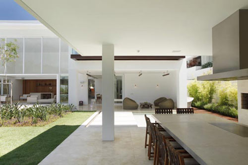 House in Brazil by Progetto