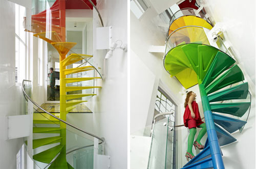 The Rainbow House in interior design architecture  Category