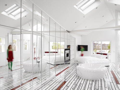 The Rainbow House in main interior design architecture  Category