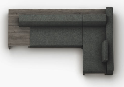 Slow Sofa by Frederik Roijé in main home furnishings  Category
