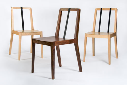 Tie Chair by Moises Hernandez