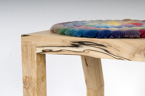 Tuft Stools by Studio801 in main home furnishings  Category
