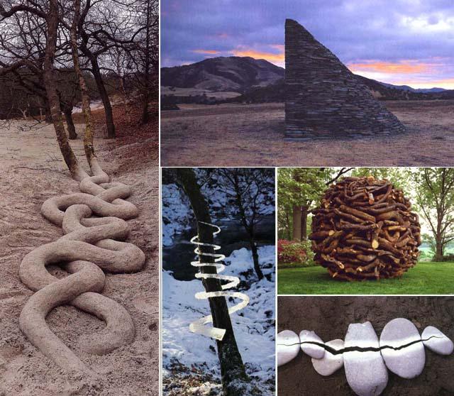 Andy Goldsworthy, Environmental Art