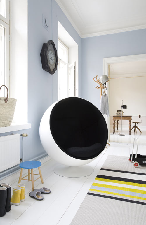 photo mindre the ball chair