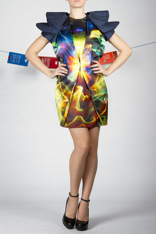 Alina Ene's Light Painted Dresses