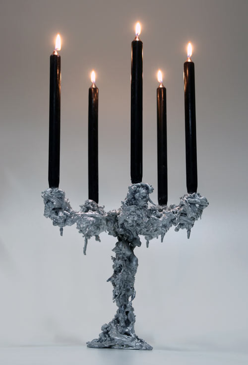 Kaarsrecht Candleholders by Pascal Smelik