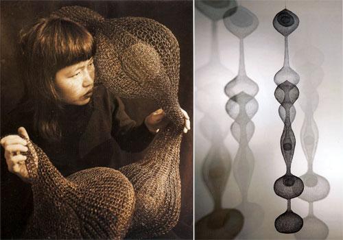 Ruth Asawa, wire sculpture