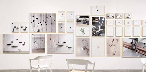 Album Exhibition by Ronan and Erwan Bouroullec