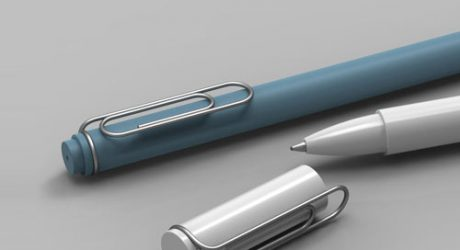 Clip and Pen by Giha Woo