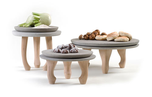 Concrete Plates by Nir Meiri in home furnishings  Category