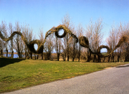 Patrick Dougherty, Land Art