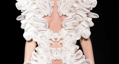 Cutting-Edge Fashion by Daniel Widrig and Iris van Herpen