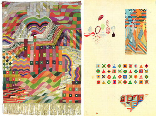 Fabric Designs by Gunta Stölzl in art  Category