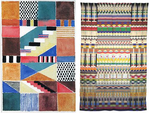 fabric designs by gunta st lzl design milk. Black Bedroom Furniture Sets. Home Design Ideas