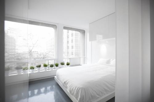 Kga by dash marshall design milk for Minimalist bedroom tour