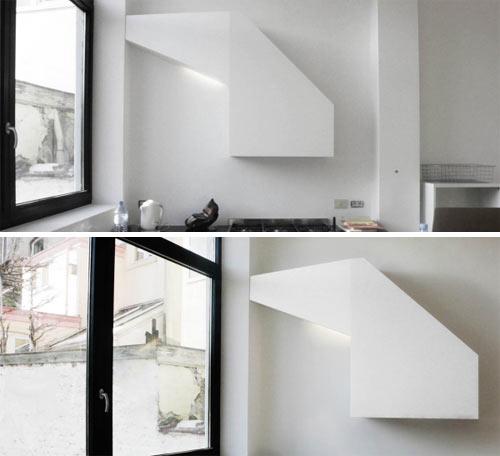 Custom Kitchen Hood In A House In Brussels By Architects Lhoas U0026 Lhoas.  [via Swissmiss And I Love Belgium]