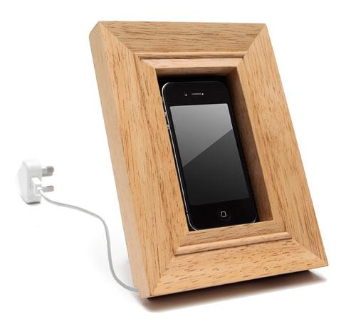 Mobile Frame Holder - Design Milk