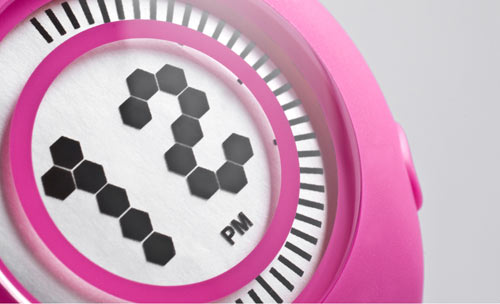 Yogurt Watch by Karim Rashid and Nooka