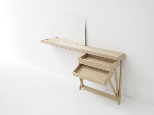 Pivot Desk and Vanity by Shay Alkalay for Arco in main home furnishings  Category