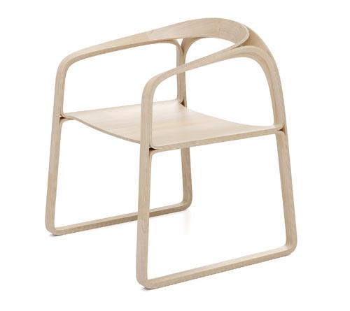 plooop chair by timothy schreiber design milk