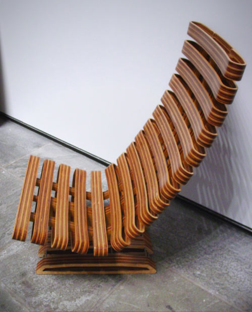 Plywood Chair by Sisto Tallini in home furnishings  Category
