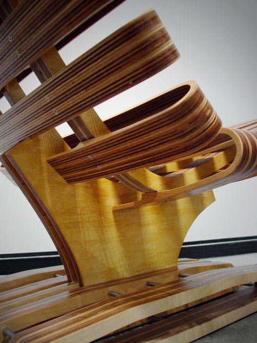 Plywood Chair by Sisto Tallini in main home furnishings  Category