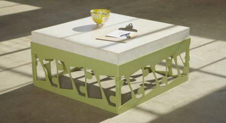Scrap Metal Tables by Bevara Design House