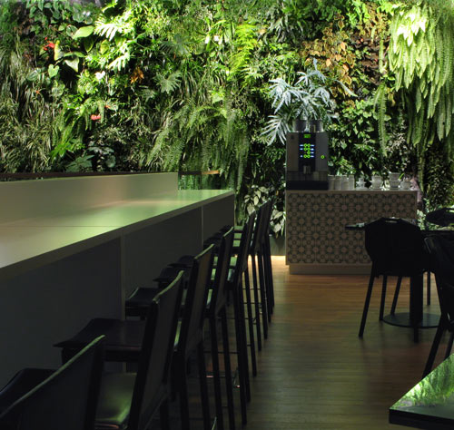 Vertical Garden Design in main interior design  Category