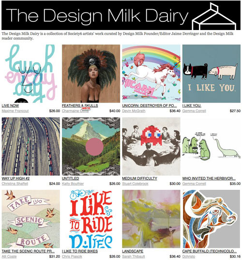 Introducing The Design Milk Dairy
