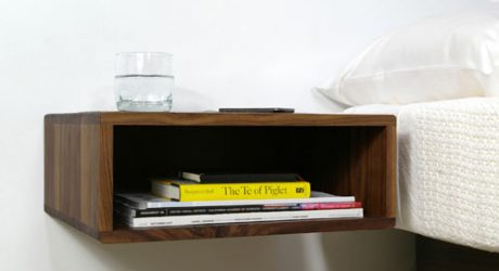 Floating Side Table by Urbancase