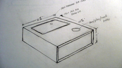 Deconstruction: Floating Side Table by Urbancase