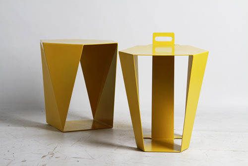 S U P E R F O L I O Folded Metal Furniture By Wedid Id