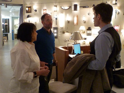A Day in the Life of Kevin Kolanowski of Fuse Lighting in main interior design home furnishings  Category