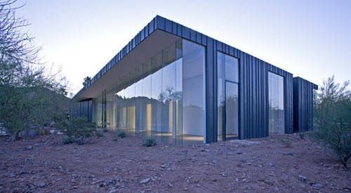Desert House In Arizona By Circle West Architects