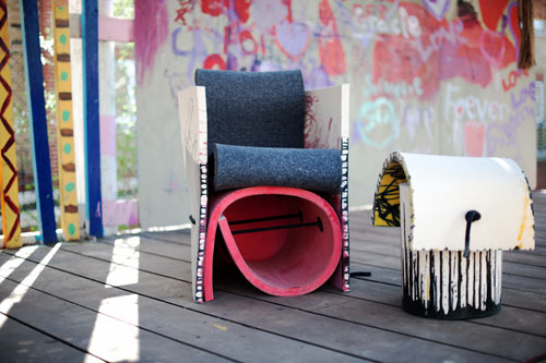 Rough&Ready Seating by Vanja Bazdulj