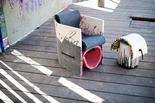 Rough&Ready Seating by Vanja Bazdulj in main home furnishings  Category