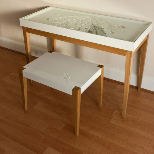 Eve Dressing Table and Stool