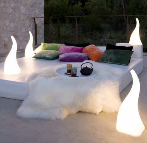 Flame Lamp by Santiago Sevillano in home furnishings  Category
