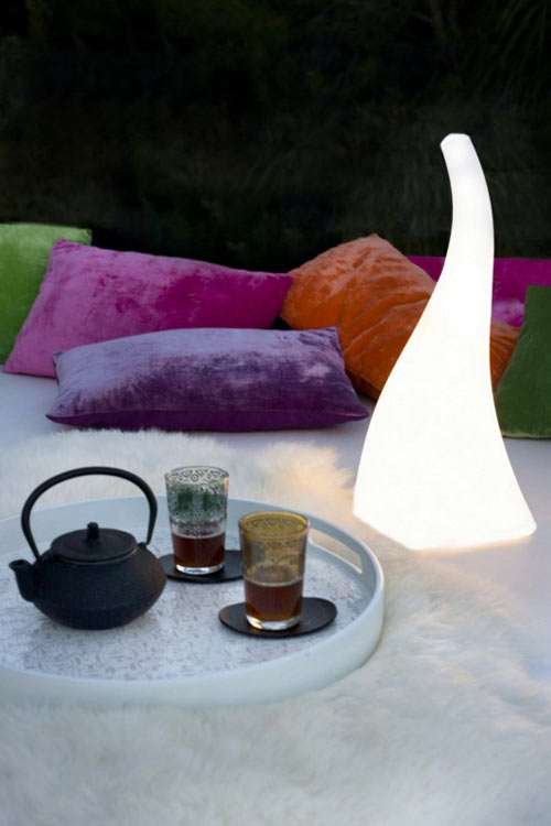 Flame Lamp by Santiago Sevillano in main home furnishings  Category