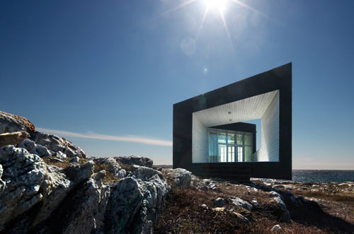Fogo Island Artist Studios in Canada by Saunders Architecture in architecture  Category