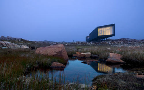 Fogo Island Artist Studios in Canada by Saunders Architecture in main architecture  Category