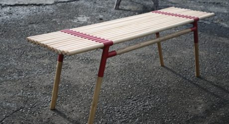 Fracture Bench by Ivan Christianto
