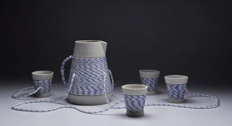 Drink Link Tea Set by Joon Lee