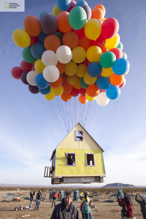 The Up House Comes to Life