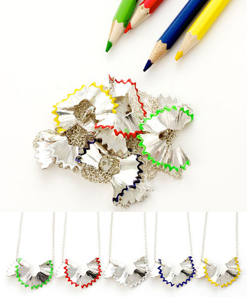 Pencil Shavings Necklace in style fashion  Category