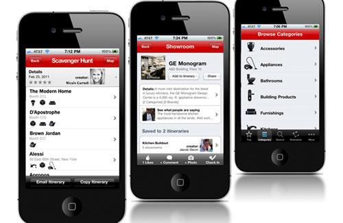 Showrooms App