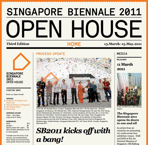 Singapore Biennale 2011: Open House