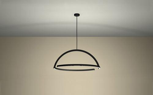 2D LED Pendant