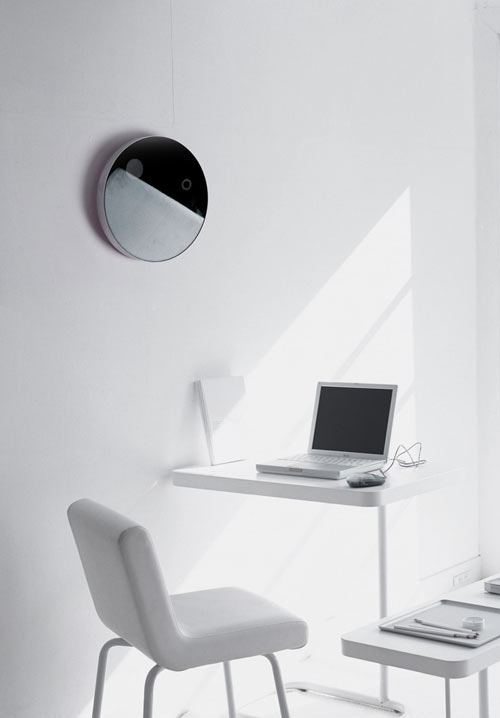 Eclipsion Wall Clock by Jay Jiwoong Baek in technology home furnishings  Category