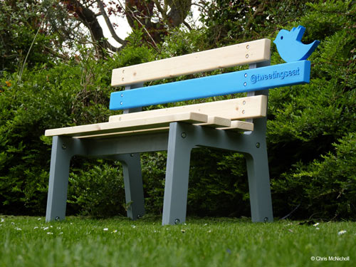 TweetingSeat by Chris McNicholl in technology home furnishings  Category
